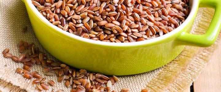 Ryż brązowy jest pełen składników odżywczych