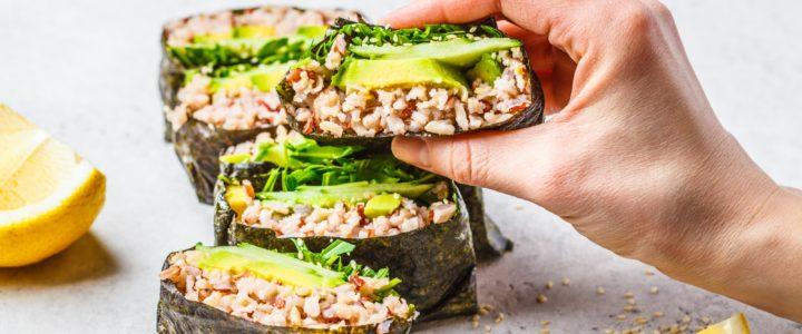 Onigirazu – japońskie kanapki z ryżem brązowym marki Britta