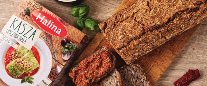 Chleb z kaszy gryczanej białej Halina