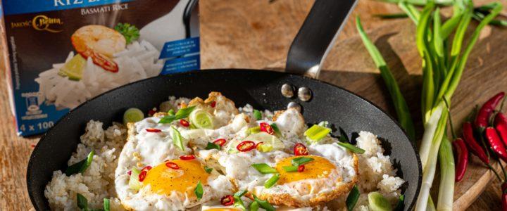 Sinangag – smażony ryżz czosnkiem i jajkiem