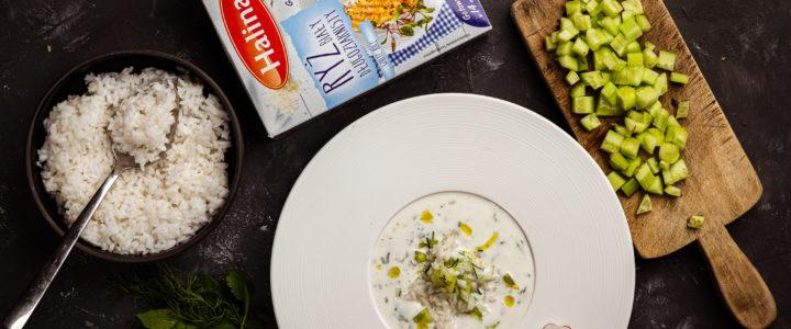 Przepis na ormiański chłodnik z białym ryżem