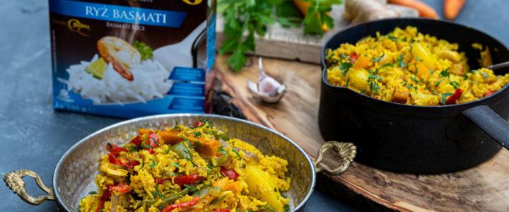 Indyjskie byriani z ryżem basmati Britta